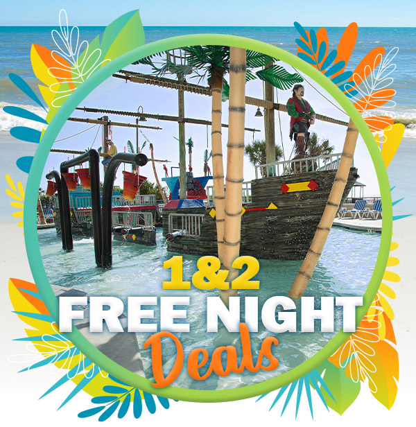 1 &2 Free Night Deals!
