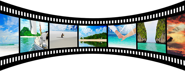 Beach Filmstrip