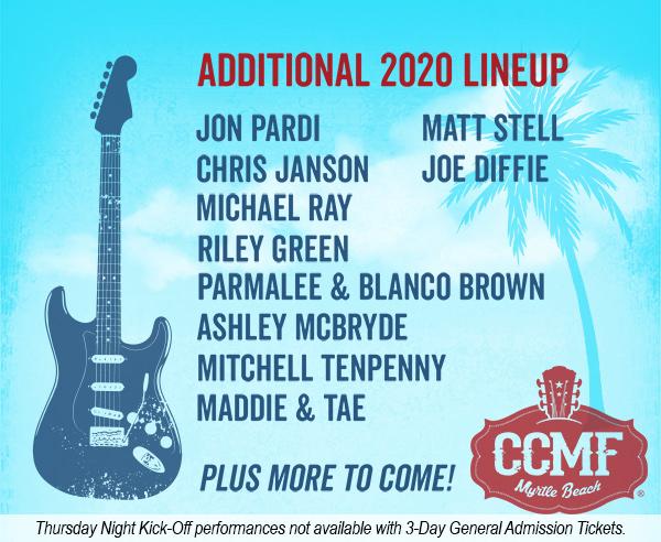 2020 CCMF Lineup