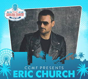 Eric Church, Carolina Country Music Fest Myrtle Beach, SC