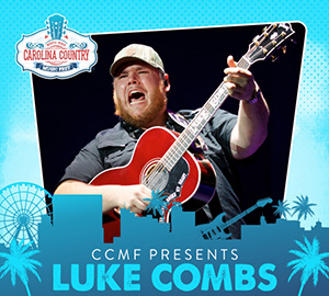 Luke Combs, Carolina Country Music Fest Myrtle Beach, SC
