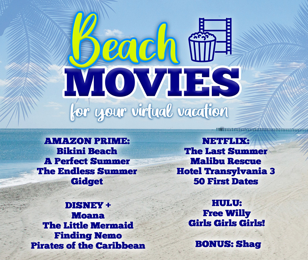 Virtual Vacation Movies to Stream